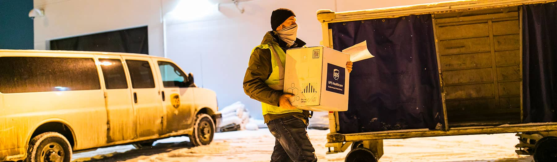 BlackWing client Alaska Air Cargo delivers first COVID-19 vaccines in the state of Alaska.