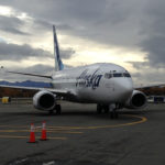 The new 737-700 Freighter arrives.