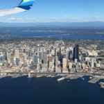 City of Seattle under the wing.