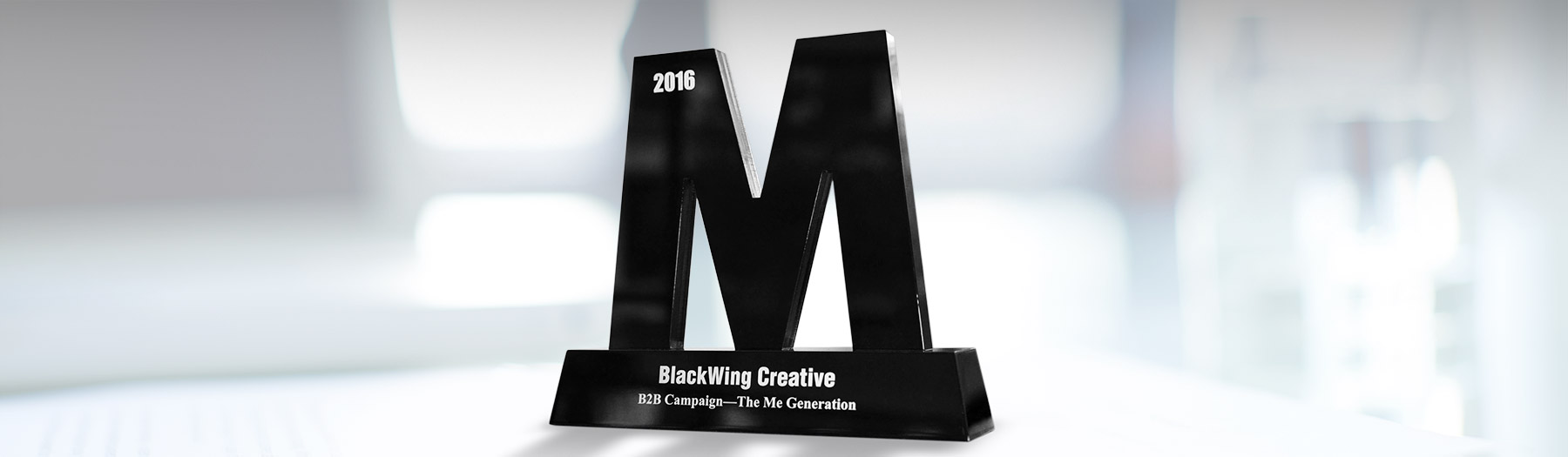 BlackWing wins Gold and Bronze awards in Marketing Magazine creative awards show.