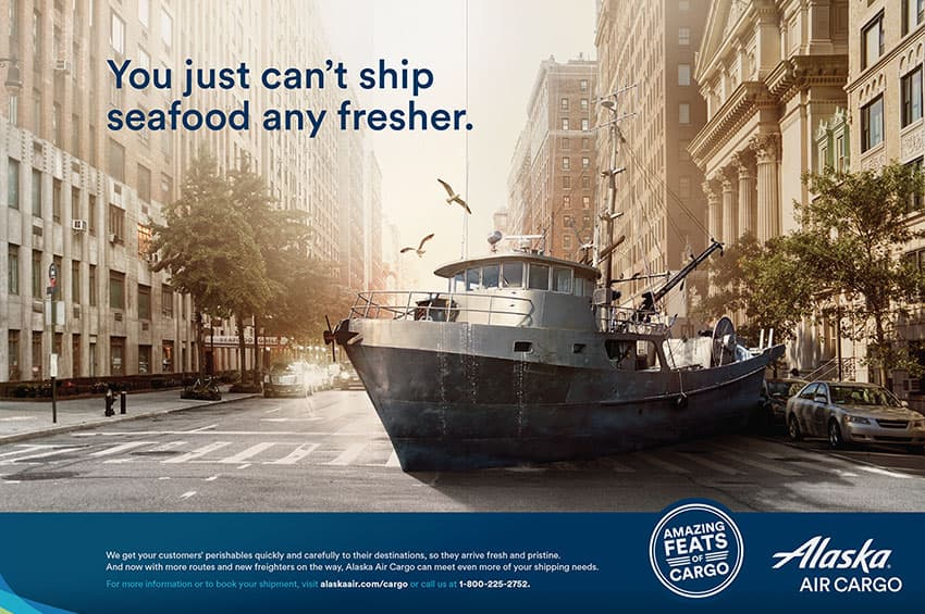 You just can't ship seafood any fresher.